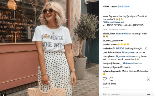 share user-generated content from influencers