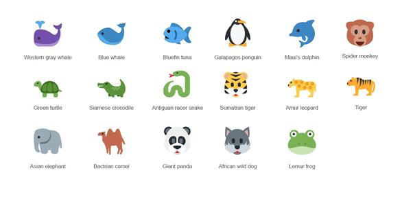 17 Endangered Animal Emojis