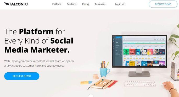 Social media management tool - Falcon