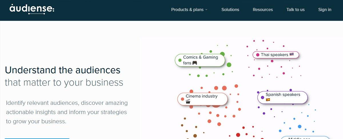 Twitter management tool - Audiense
