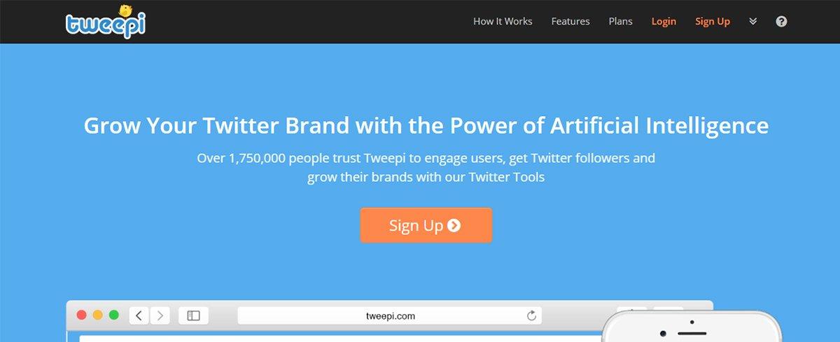 Twitter management tool - Tweepi