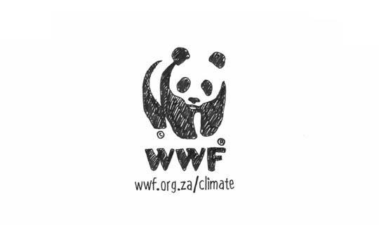 Sketched logo of WWF organization
