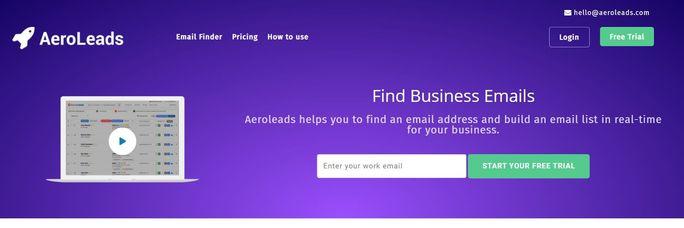 LinkedIn marketing tool - Aeroleads
