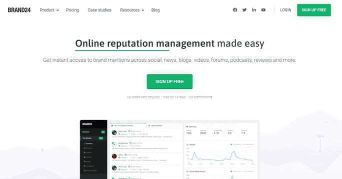 LinkedIn Analytics tool - Brand24