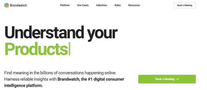 Brandwatch dashboard