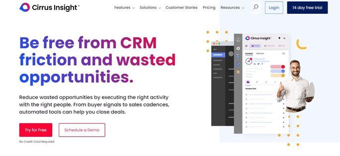 LinkedIn automation tool - Cirrus Insight