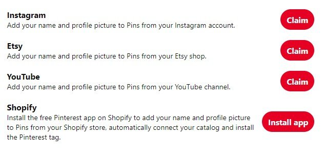 Claim your Instagram,Youtube, Etsy and Shopify account