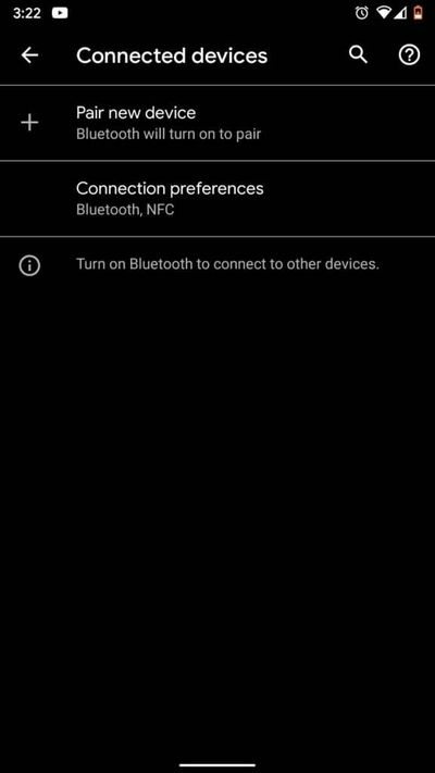 Connection-Preferences