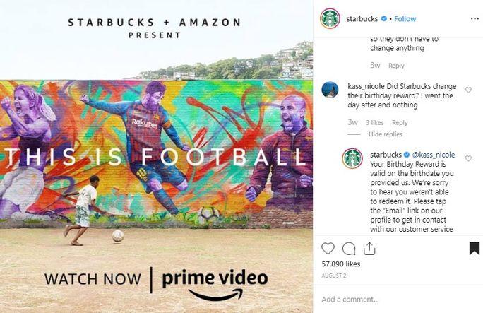 Starbucks analyzed the problem first