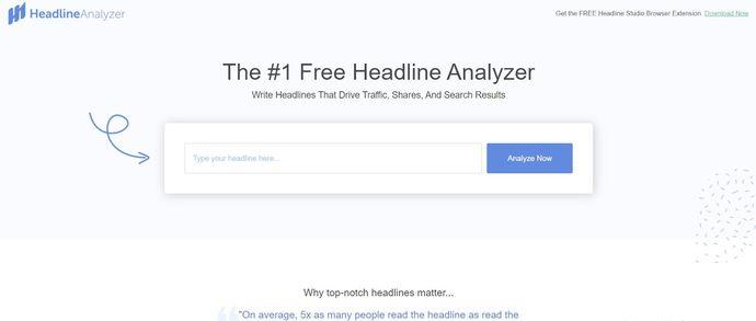 Facebook Marketing Tool - Headline Analyzer