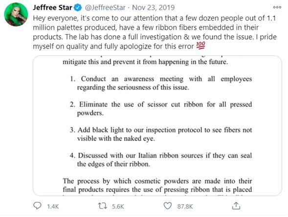 Jeffree Star Troll response