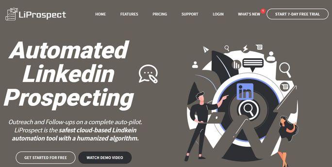 LinkedIn automation tool - LiProspect