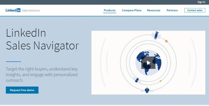 LinkedIn marketing tool - LinkedIn Sales Navigator
