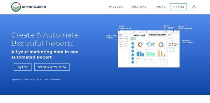 LinkedIn Analytics tool - ReportGarden
