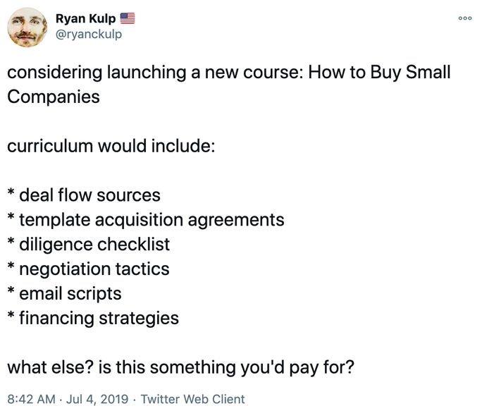 Ryan kulp tweet 1