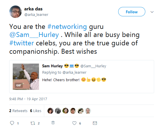 Influencers engage with audience