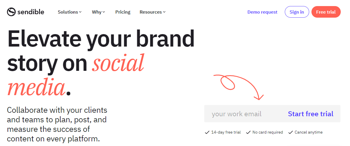 Social media management tool - Sendible