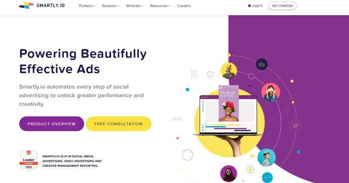 Instagram marketing tool - Smartly.io