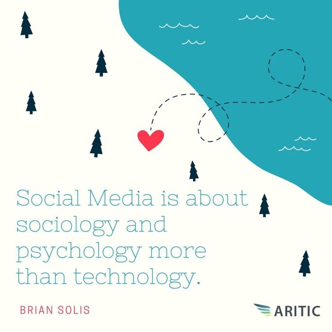Social Media Quote Example by Brian Solis