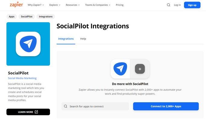 SocialPilot Integrations
