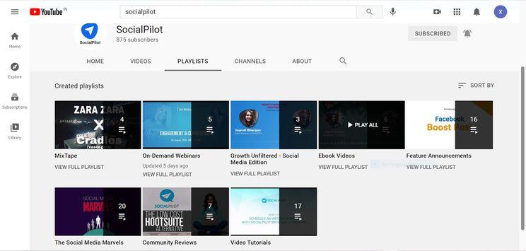 SocialPilot-playlists