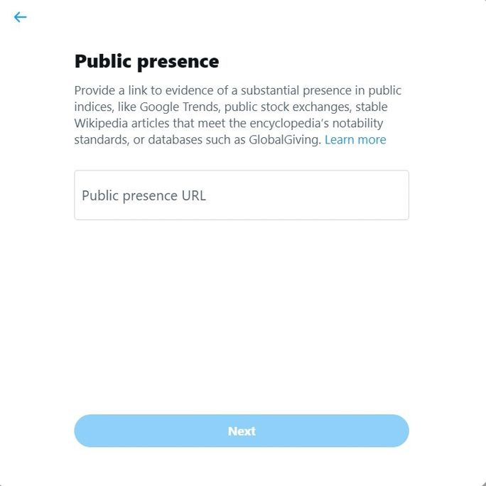 public-presence-verification-process