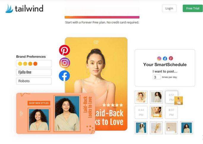 Instagram automation tool - Tailwind