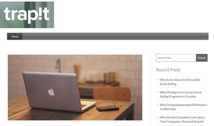 Content curation tool - Trapit