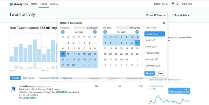 Tweet-analytics-calendar