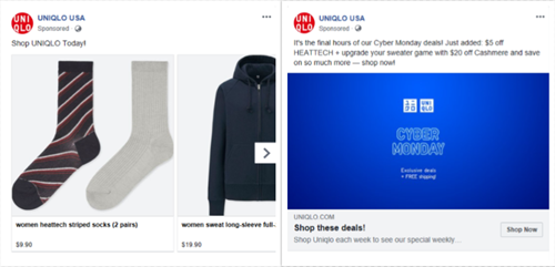 Implement Facebook dynamic ads