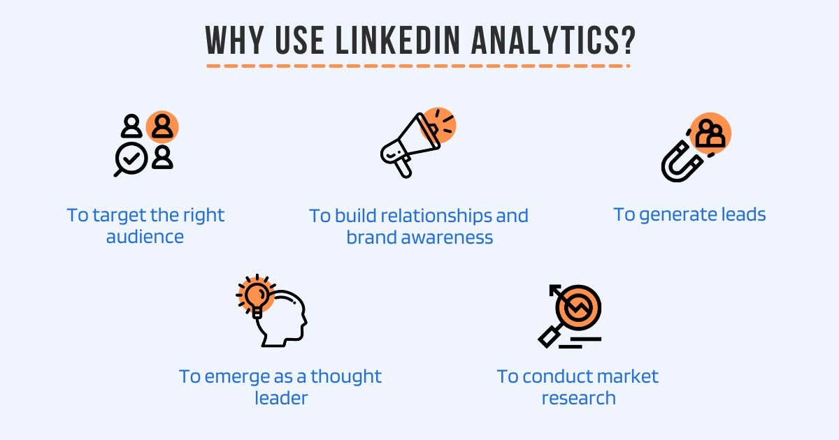 Why use LinkedIn analytics