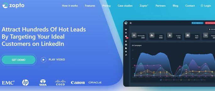 LinkedIn automation tool - Zopto