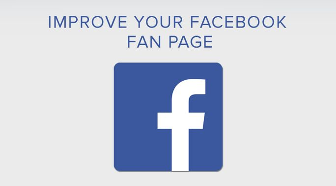 Improve your Facebook fan page