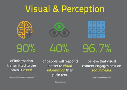 visual and perception social stats