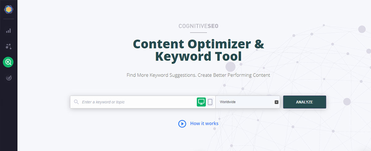 Content curation tool - cognitiveSEO