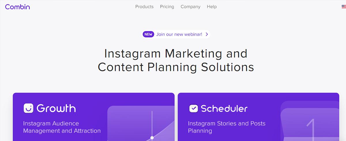 Instagram scheduling tools - Combin