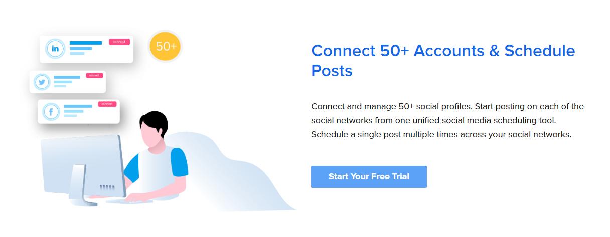 Connect Accounts with SocialPilot