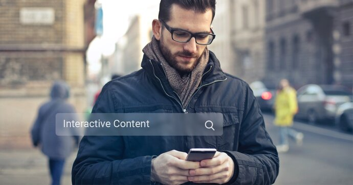 Interactive content that stands out