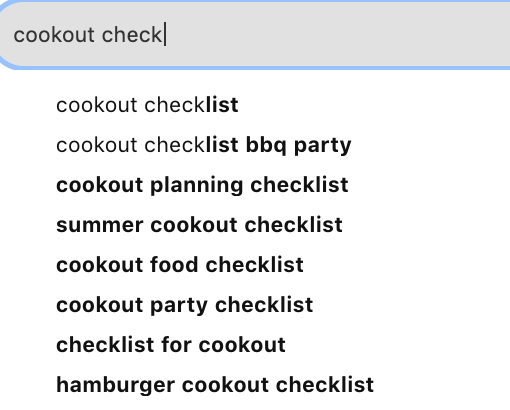 cookout-check