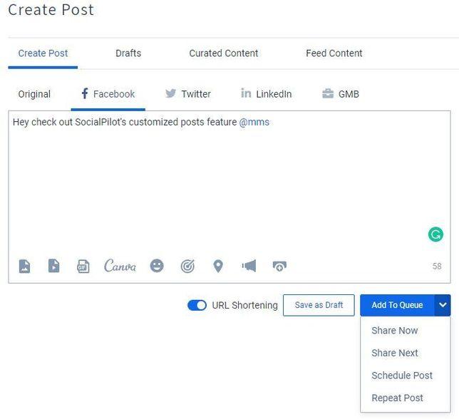 create post fb