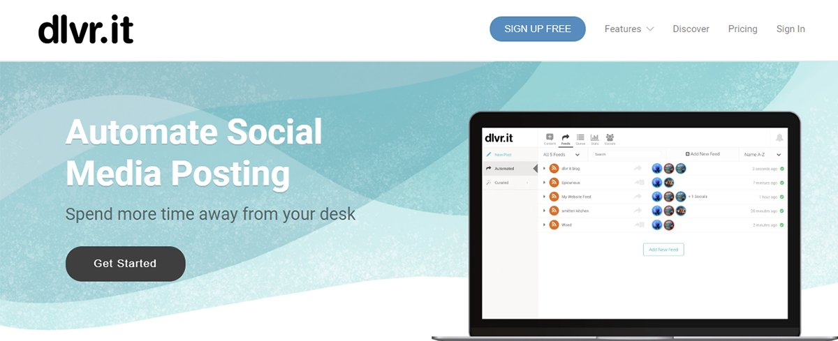 Facebook publishing tool - dlvr.it