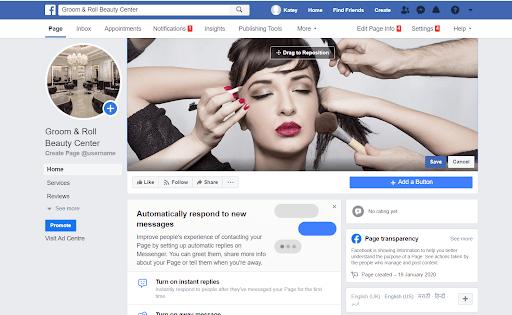 Facebook Profile Page