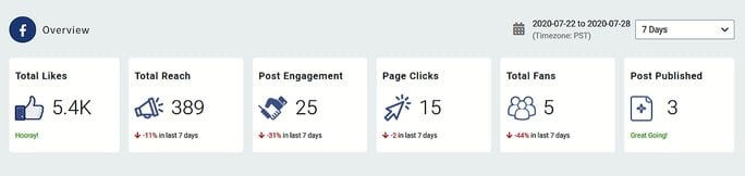 Overall Page Analytics
