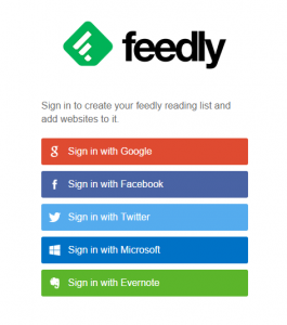 Connect your feedly account with Zapier