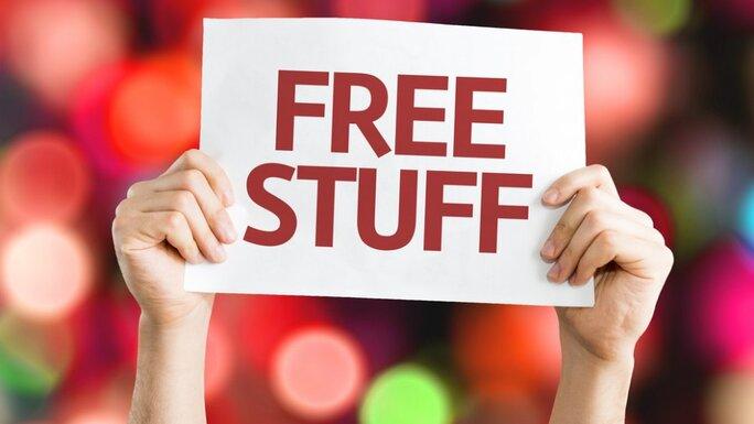 Give them something free