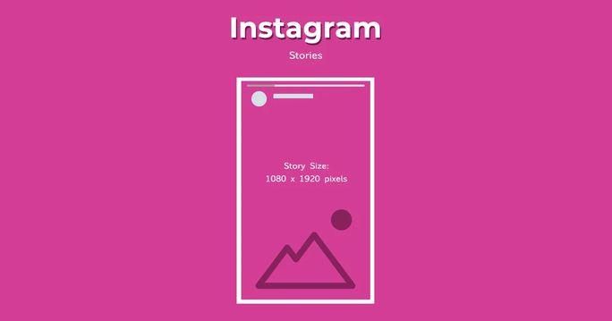 Instagram story image size
