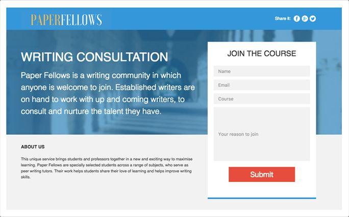 Online writing resource