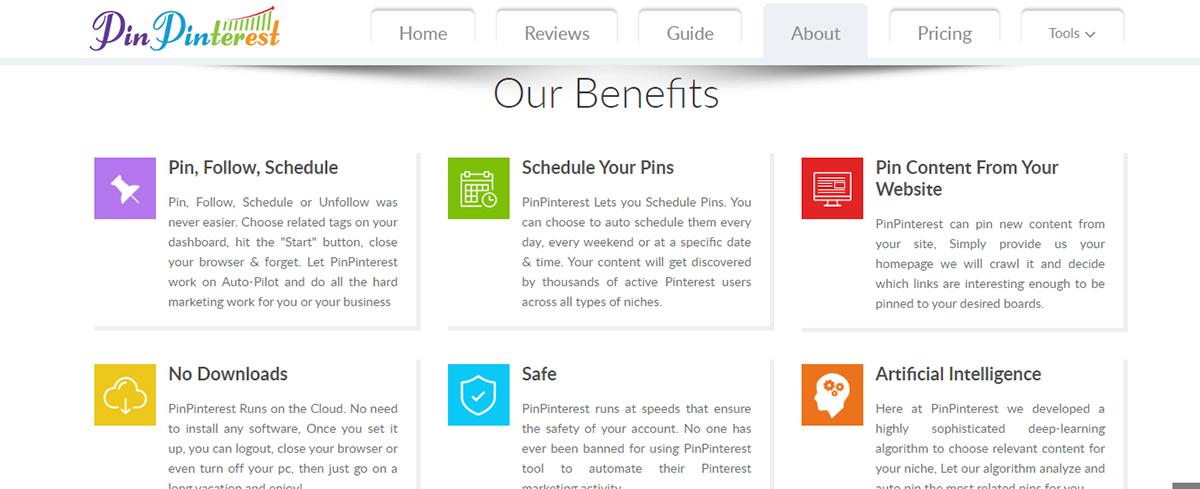 Pinterest tool - PinPinterest