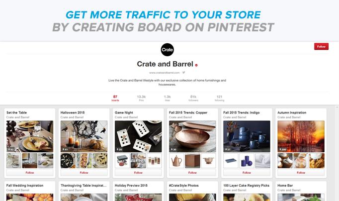 Create Board on Pinterest