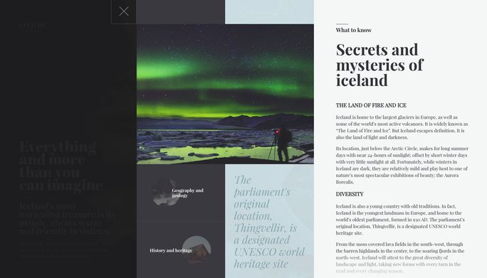 Secrets and mystry of iceland